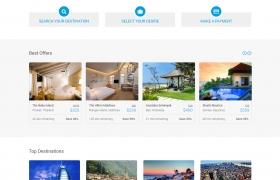 优秀的旅游网站设计欣赏
