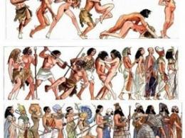 人类[暴力]进化史-插画